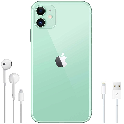 Apple iPhone 11 64GB Green (зеленый). Фото N3