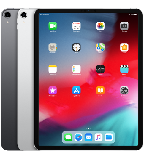 Apple iPad Pro 12.9 (2018) 1 Tb Wi-Fi + Cellular Silver (Серебристый). Фото N4