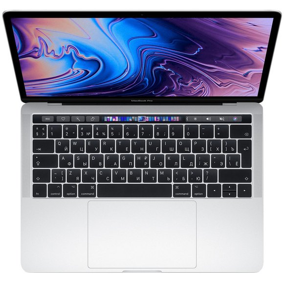 Apple MacBook Pro 13 mid 2018 Retina Touch Bar MR9V2 Silver (2,3 GHz, 8GB, 512GB)