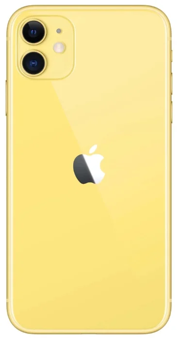 Apple iPhone 11 128GB Yellow (Жёлтый). Фото N2