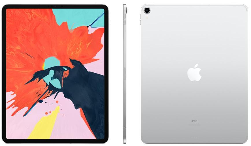 Apple iPad Pro 12.9 (2018) 1 Tb Wi-Fi + Cellular Silver (Серебристый). Фото N2