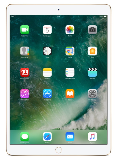 Apple iPad Pro 10.5 256Gb Wi-Fi Gold. Фото N2