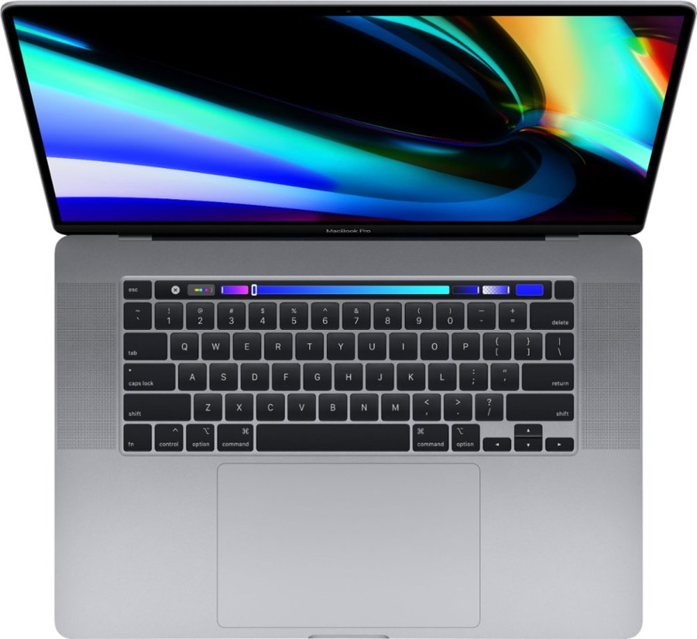"Apple MacBook Pro 16 Late 2019 MVVK2 (Intel Core i9 2300 MHz/16""/3072x1920/16GB/1024GB SSD/AMD Radeon Pro 5500M 4GB/Wi-Fi/Bluetooth/macOS) Серый космос. Фото N2"