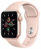 Apple Watch SE 40mm GPS Gold Aluminum Case with Pink Sand Sport Band MYDN2 (золотистый/розовый песок)