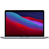 "Ноутбук Apple MacBook Pro 13"" Late 2020 (M1, 13.3""/2560x1600/8Gb/256Gb SSD/Touch bar) Серый космос (MYD82)"